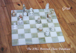 Grue - the XML Boosted Chess Database